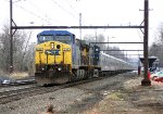 CSX 210 on P917 Ringling Bros red unit